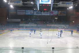 Mecz hokeja / Ice hockey match in Schwenningen